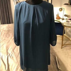 H&M Blue Shift Dress